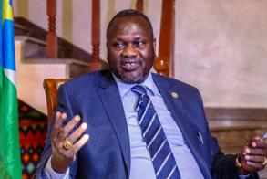 Dr Machar turns down president Kiir's invitation